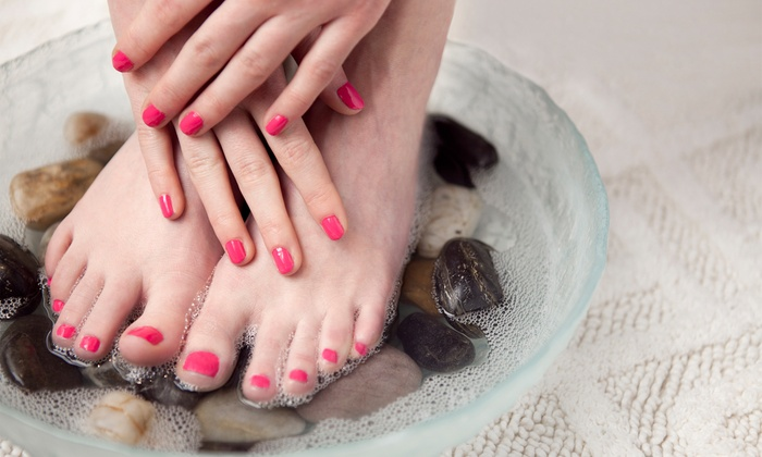 Jade Nails & Massage Spa - Alton Park: Manicure and Spa Pedicure with Optional Massage or Facial at Jade Nails & Massage Spa (Up to 52% Off)