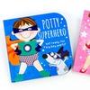 Fairy Princess or Superhero Potty Training Book