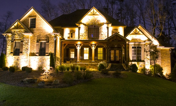 Abulous Lighting - Atlanta: $399 for Landscape Lighting Installation from Abulous Lighting ($695 Value)