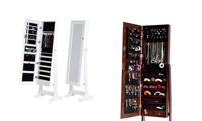 Cielo Lifestyle: Mirrored Jewellery Cabinet for R1 695 Including Delivery (43% Off)