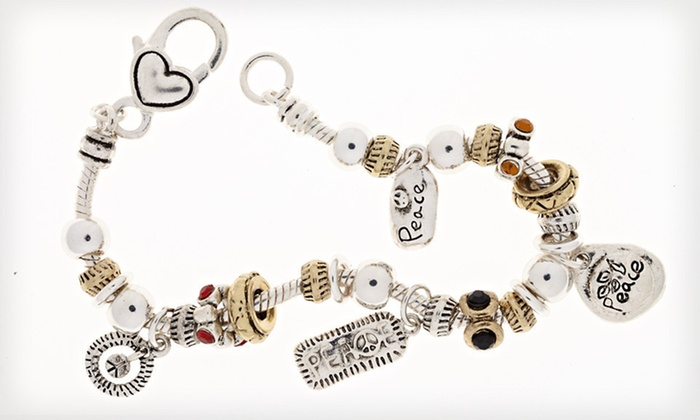 Ambrosia Charm Bracelets: $15 for an Ambrosia Charm Bracelet ($95 List Price). 15 Styles Available. Free Shipping.