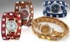 Geneva Platinum Girlfriend Wrap Watches: Geneva Platinum Girlfriend Wrap Watches. Multiple Colors Available. Free Returns.