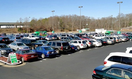 2, 4, 6, or 10 Days of Outdoor Parking at Peachy Airport Parking (Up to 42% Off)