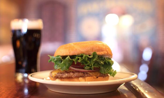 Emils Buffalo Tavern - Columbus: Burgers and Drinks at Emils Buffalo Tavern (Half Off). Two Options Available.