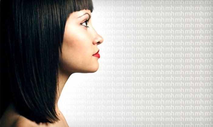 Jenni Teague at Muse Hairdressing - Petaluma: Cut with Color or Mini Highlights, or Keratin Straightening Treatment from Jenni Teague at Muse Hairdressing (Up to 60%)