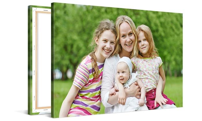 Photo Gifts: Fotolienzo personalizado disponible en varias dimensiones desde 26,99 € (hasta 82% de descuento)