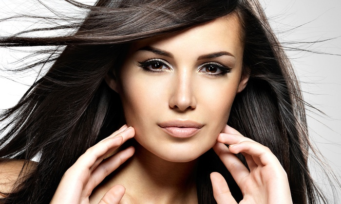 Hot Looks Hair Salon - Mayfair: Haircut and Deep Conditioning with Optional Full Color or Partial Highlights at Hot Looks Hair Salon (Up to 68% Off)