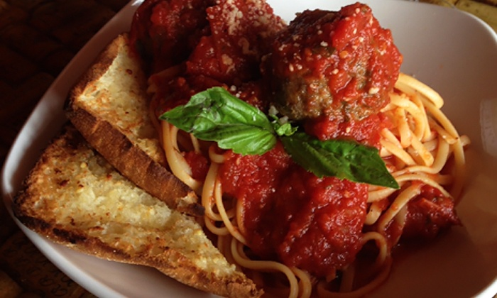 Vino Veritas Winery and Ristorante - Little Italy/Cleveland: $26 for a Sicilian Meal for Two and Two Flights of Five Vino Veritas Wines at Vino Veritas Winery and Ristorante ($44 Value)