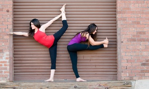 True Hot Yoga: 10 or 15 Classes at True Hot Yoga (Up to 84% Off)