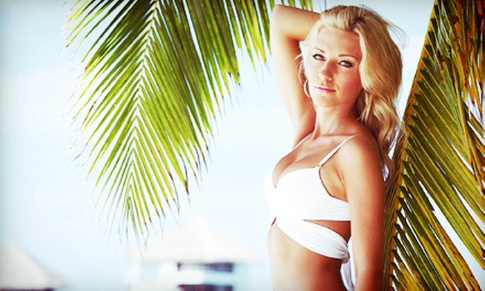 Theresa at Leytha's Day Spa - Woodward Park: One or Three Million Dollar Airbrush Tans from Theresa at Leytha's Day Spa (Up to 64% Off)
