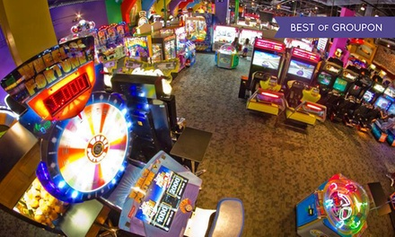 Two-Hour Arcade-Gaming Cards and $6 Credits for Two or Four at GameRoom (64% Off)