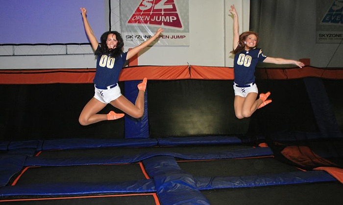 Sky Zone - Chesterfield: $13 for Two 60-Minute Jump Passes at Sky Zone St. Louis ($26 Value)