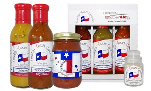 Smokin' Texas Gourmet: Condiment Trio Gift Package or $10 for $20 Worth of Sauces, Rubs, and Condiments at Smokin' Texas Gourmet