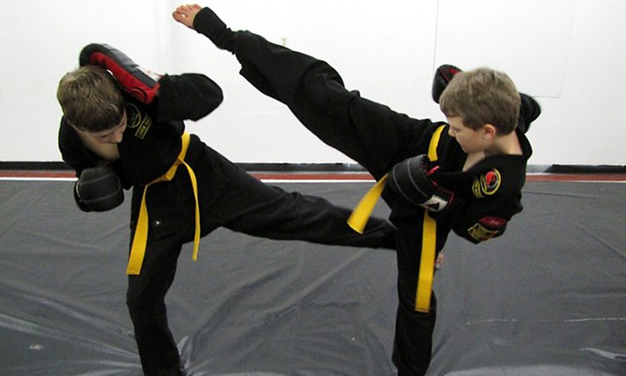 Invasion Athletix - Northgate: Month of Unlimited Kung Fu or Kickboxing Classes for One or a Family at Invasion Athletix (Up to 58% Off)
