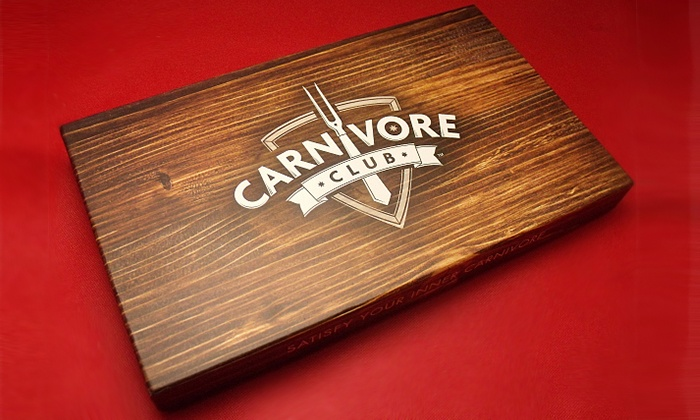 Carnivore Club: C$59 for an Exclusive Charcuterie Box from Carnivore Club (C$85 Value)