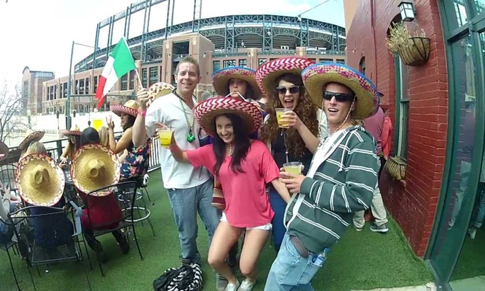 Cinco de Drinko Pub Crawl - ViewHouse: General or VIP Admission to the Cinco de Drinko Pub Crawl on Saturday, May 3 (Up to 36% Off)