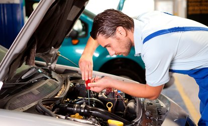 image for Vehicle Maintenance Package with Discounted MOT at BOS VIP Ticketing (90% Off)