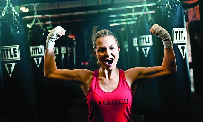 TITLE Boxing Club - Palos Park: Two Weeks or One Month of Unlimited Classes at Title Boxing Club (54% Off)