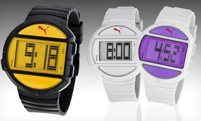 Puma Watches for Men and Women: Puma Watches for Men and Women (Up to 60% Off). 7 Styles Available.