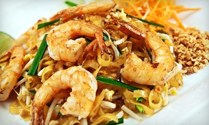 Issara Thai Cuisine - Goldenwest: Thai Food for Two or Four at Issara Thai Cuisine (Half Off)