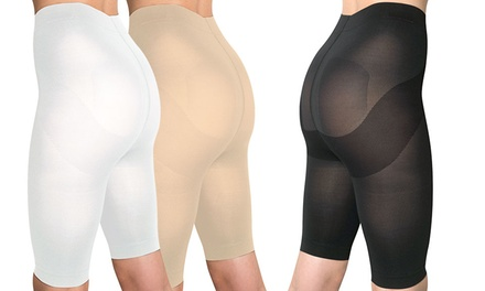 Skin Up 3er-Set Körperformende Damen-Shorts in Beige, Schwarz oder Weiß