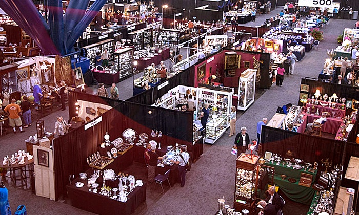 HADA Spring Antiques Show & Sale - Downtown: HADA Spring Antiques Show Tickets for Two or Four on February 14–16 (Up to 50% Off)