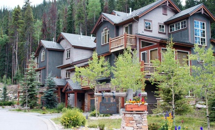 groupon daily deal - 1, 2, or 3 Nights for Up to Eight in a One- or Two-Bedroom Condo at Summit County Mountain Retreats in Keystone, CO