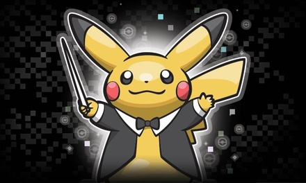 Pokémon: Symphonic Evolutions at City National Civic on July 12 at 8 p.m. (Up to 33% Off)