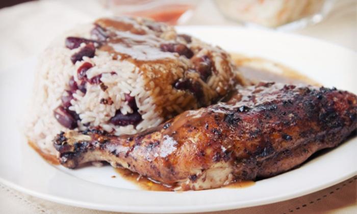 Ocho Rios Grill - Lawndale: Jamaican Cuisine for 2 or 4 or Catering for 10 at Ocho Rios Grill (Up to 57% Off)