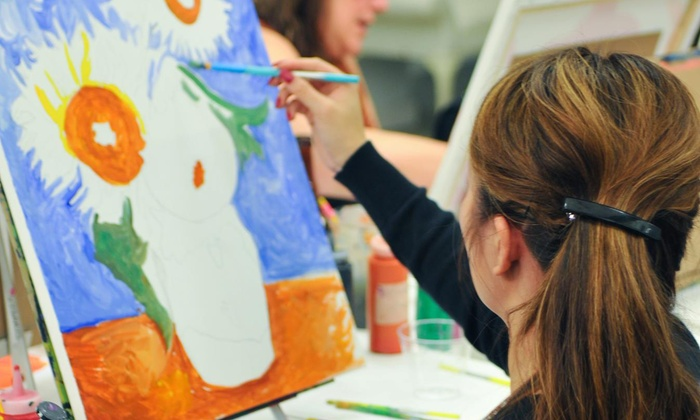 VisArts - Central Rockville: Cocktails and Canvas Painting Class at VisArts (50% Off)