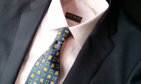 $849 for a Custom Suit from BenchMade Clothing by Jeremy Asher ($1,595 Value)