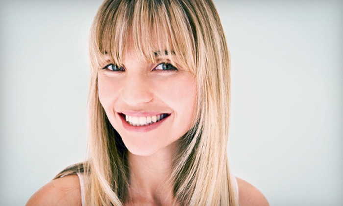 Ashley Gardner at Salon Vantaggio - Mount Pleasant: Haircut and Style with Conditioning or Partial or Full Highlights from Ashley Gardner at Salon Vantaggio (Up to 78% Off)