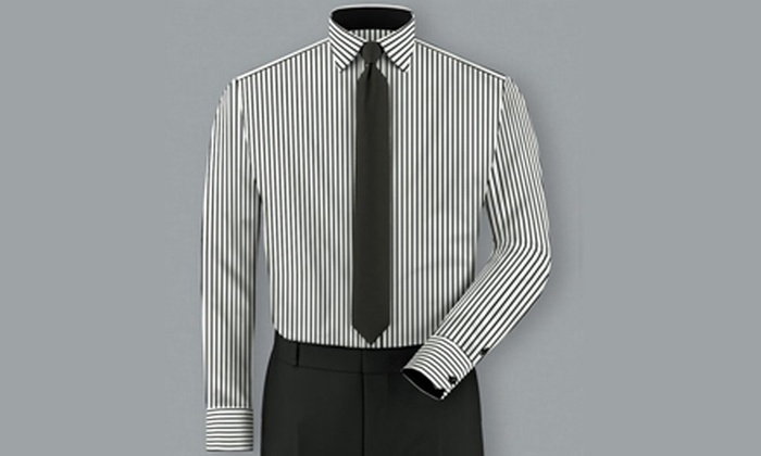 Jason Meyers - West Queen West: One or Two Custom-Made Designer Dress Shirts from Jason Meyers (Up to 54% Off). Four Options Available.