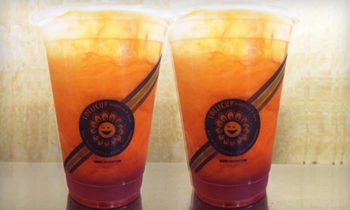 Lollicup - Diamond Bar: $11 for 10 Thai Iced Teas at Lollicup ($29.90 Value)