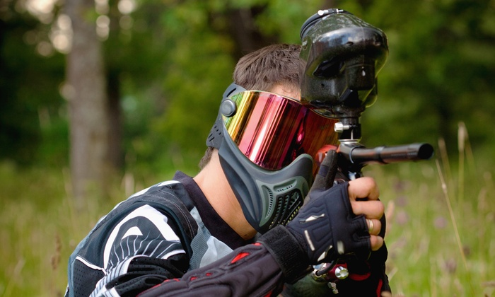 Outlaw Paintball - Outlaw Paintball: Paintball Package for Up to Four or Eight with Gear, Air, and Paintballs at Outlaw Paintball (69% Off)
