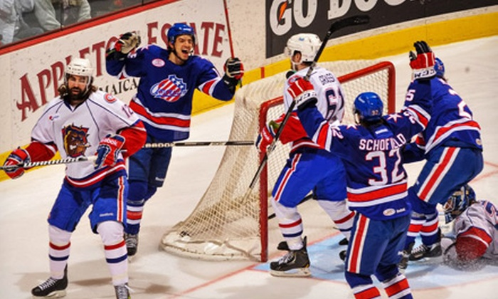 Rochester Americans - Blue Cross Arena: Rochester Americans Hockey Game at Blue Cross Arena on Friday, April 12, at 7:05 p.m. (Up to 54% Off)