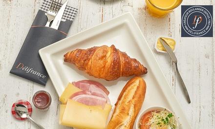 Luxe ontbijt/brunch voor 26 personen bij Délifrance Hellevoetsluis