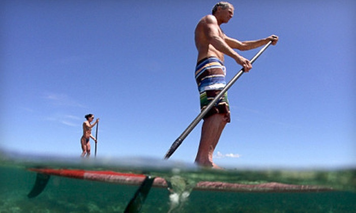 Paddle Core Fitness - 11, Long Creek: Standup-Paddleboarding Lesson and Tour or Group Lesson for Up to Eight from Paddle Core Fitness (Up to 55% Off)