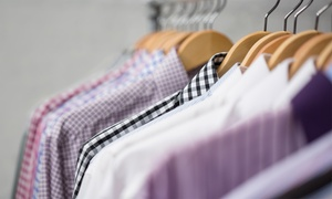The Smarter Shirt Laundry: Delivery Dry Cleaning or Shirt Laundry at The Smarter Shirt Laundry (Up to 50% Off)