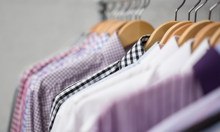 Dry Cleaning at Shelton Family Cleaners (Up to 38% Off). Three Options Available.