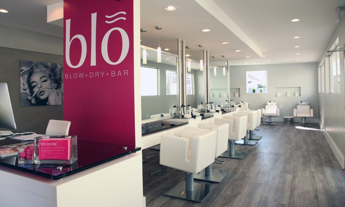 Blo Blow Dry Bar - The Woodlands Waterway: $25 for aBlo Outat Blo Blow Dry Bar ($40 Value)
