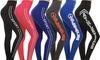 Women's Full-Length Moisture-Wicking Athletic Leggings: Women's Full-Length Moisture-Wicking Athletic Leggings