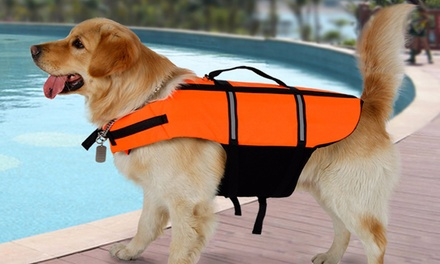 From $14 for a Dog Life Jacket in Choice of Four Sizes