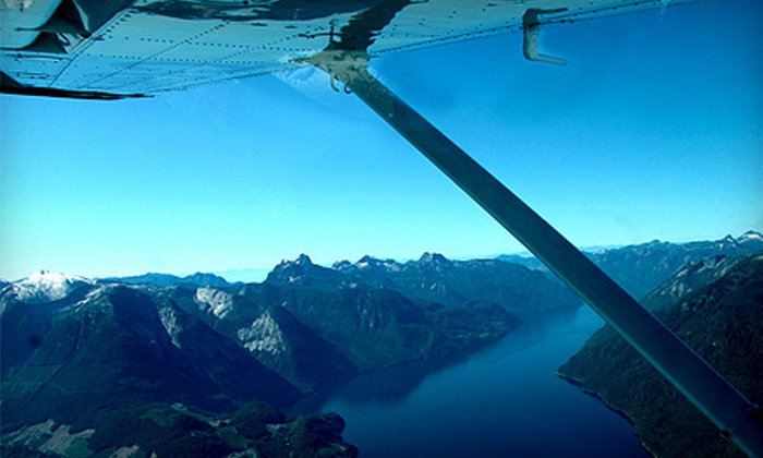 Sea to Sky Air - Squamish: Flight Tour for Up to Three Passengers from Sea to Sky Air in Squamish (Half Off). Two Tour Destinations Available.