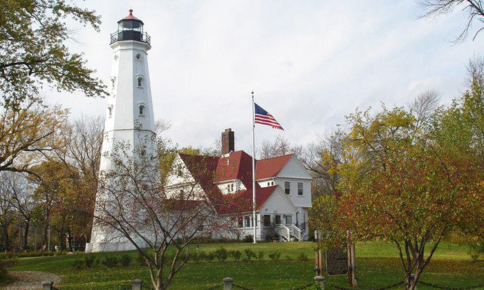 North Point Lighthouse - Northpoint: Lighthouse Visit for Two or Four or a Family Membership to North Point Lighthouse (Up to 55% Off)