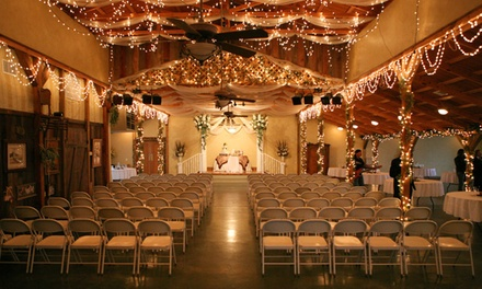 $2,750 for a 12-Hour Reception for Up to 250 from Country Home Weddings ($5,000 Value)