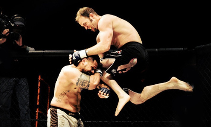 "Alaska Fighting Championship 99 ""Spring Beatings"" - Sullivan Arena : Alaska Fighting Championship 99: Spring Beatings for Two or Four at Sullivan Arena (Up to 75% Off)"