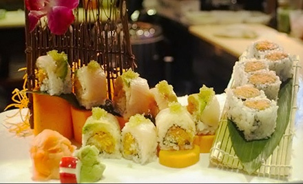 Upscale Asian Cuisine at Tokyo Fresh Asian Bistro & Bar (Half Off). Three Options Available.
