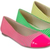 Sugar Atlas Neon Flats
