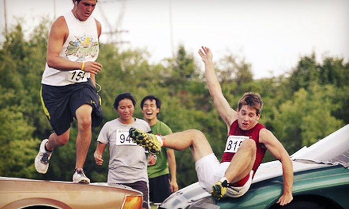 The Waterfront Challenge - Butchertown: $39 for Entry in a 5K Obstacle-Course Race from The Waterfront Challenge at Waterfront Park on June 22 (Up to $79 Value)